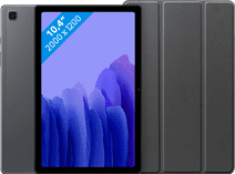 Samsung Galaxy Tab A7 64GB WLAN Grau + Just in Case Bookcase Schwarz