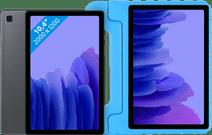 Samsung Galaxy Tab A7 64GB WLAN Grau + Just in Case Kinderhülle Blau