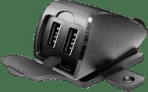 Lampa USB Fix Trek 2 Universal-Ladegerät Motor mit 2 USB-A-Ladeports