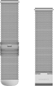 Garmin Milanaise Band Silber 20 mm