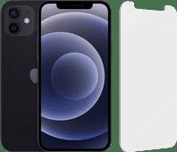 Apple iPhone 12 128 GB Schwarz + InvisibleShield Glass Elite Screenprotector