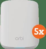 Netgear Orbi RBK353 5-Pack Multiroom Wi-Fi 6