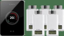 Bosch EasyControl CT200 Schwarz + 5x Bosch EasyControl Smart Radiator Thermostat RT10-RF