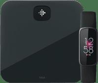 Fitbit Luxe Schwarz + Fitbit Aria Air Schwarz