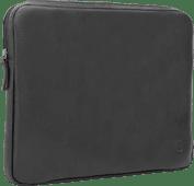 BlueBuilt 15 Zoll Laptophülle Breite 35 cm¿36 cm Leder Schwarz