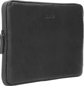 BlueBuilt Laptophülle Leder Schwarz / Für 13 Zoll Apple MacBook Air/Pro