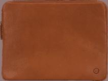 BlueBuilt 15-Zoll-Laptophülle Breite 35 cm - 36 cm Leder Cognac