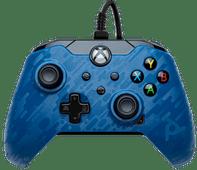 PDP Bedrade Controller Xbox Series X und Xbox One Blau Camo