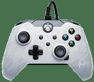 Verkabelter PDP Controller Xbox Series X und Xbox One Weiß Camo