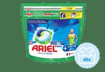 Ariel-All-in-1-Pods mit aktiver Geruchsbekämpfung 40 Stück