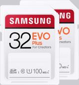 Samsung SD Card EVO Plus 32 GB Duo Pack