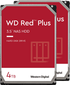 WD Red Plus WD40EFZX 4 TB Duo Pack