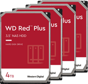 WD Red Plus WD40EFZX 4 TB 4-Pack