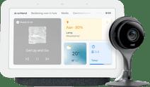 Google Nest Hub 2 Charcoal + Nest Cam Indoor