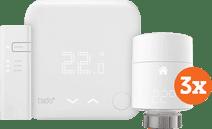 Tado Smart Thermostat V3 + Starterpaket + 3 Heizkörperventile