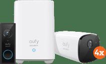 Eufycam 2 Pro 4er-Pack + Video Doorbell Battery
