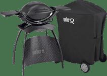Weber Q1400 mit Gestell + Abdeckung