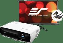 BenQ TK810 + Projektionsleinwand + HDMI-Kabel