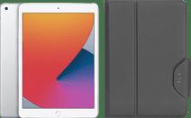 Apple iPad (2020) 10,2 Zoll 128 GB WLAN Silber + Targus VersaVu Book Case Schwarz