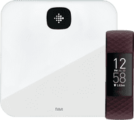 Fitbit Charge 4 Palisander + Fitbit Aria Air Weiß