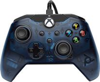 Verkabelter PDP Controller Xbox Series X und Xbox One Blau