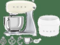 SMEG SMF02CREU Creme + Eisbereiter