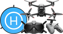 DJI FPV Combo + Landing pad
