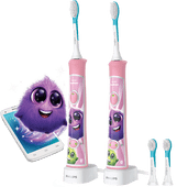 Philips Sonicare for Kids Connected HX6352/42 ¿ Duopack