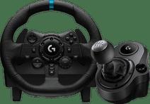 Logitech G923 Trueforce für PlayStation und PC + Logitech Driving Force Shifter