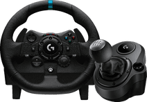 Logitech G923 Trueforce für Xbox und PC + Logitech Driving Force Shifter