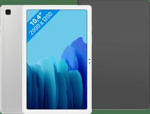 Samsung Galaxy Tab A7 64 GB WLAN Silber + Samsung Book Case Schwarz