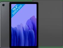Samsung Galaxy Tab A7 64 GB WLAN + 4G Grau + Samsung Book Case Schwarz