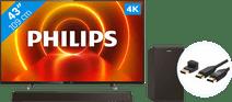 Philips 43PUS7805 - Ambilight + Soundbar + HDMI-Kabel