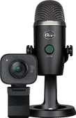 Logitech StreamCam + Mikrofon Blue Yeti Nano
