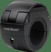 Universal-Telefonhalterung Loop Mount Schwarz mit Klemme für Fahrradlenker