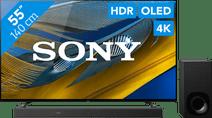 Sony Bravia OLED XR-55A80J (2021) + Soundbar