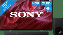 Sony OLED KE-55A8P (2021) + Soundbar