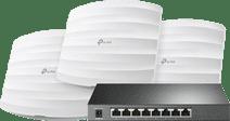 TP-Link Omada EAP245 3er-Pack + TP-Link Omada TL-SG2008P