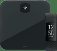 Fitbit Charge 4 Schwarz + Fitbit Aria Air Schwarz