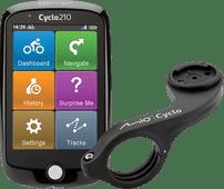 Mio Cyclo 210 Europa + Mio Cyclo Bike Mount Plus Lenkerhalterung