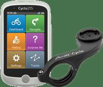 Mio Cyclo 215HC + Mio Cyclo Bike Mount Plus Lenkerhalterung