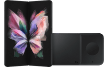 Samsung Galaxy Z Fold3 256GB Schwarz 5G + Samsung kabelloses Ladegerät DUO Pad 9W Schwa