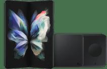 Samsung Galaxy Z Fold3 512GB Grün 5G + Samsung kabelloses Ladegerät DUO Pad 9W Schwarz