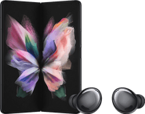 Samsung Galaxy Z Fold3 512GB Schwarz 5G + Samsung Galaxy Buds Pro Schwarz