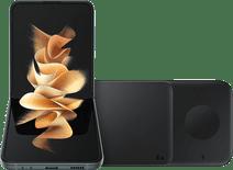 Samsung Galaxy Z Flip3 256GB Grün 5G + Samsung kabelloses Ladegerät DUO Pad 9W Schwarz
