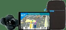 Garmin Drivesmart 65 LMT-S Europa + Halterung + Schutzhülle