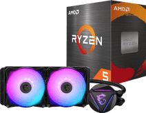 AMD Ryzen 5 5600X + MSI Coreliquid 240R Prozessorkühler