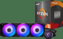 AMD Ryzen 5 5600X + MSI Coreliquid 360R Prozessorkühler