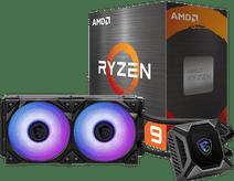 AMD Ryzen 9 5900X + MSI Coreliquid K240 Prozessorkühler