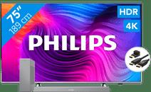 Philips 75PUS8506 - Ambilight (2021) + Soundbar + HDMI-Kabel
